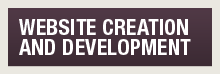 Website creation and development